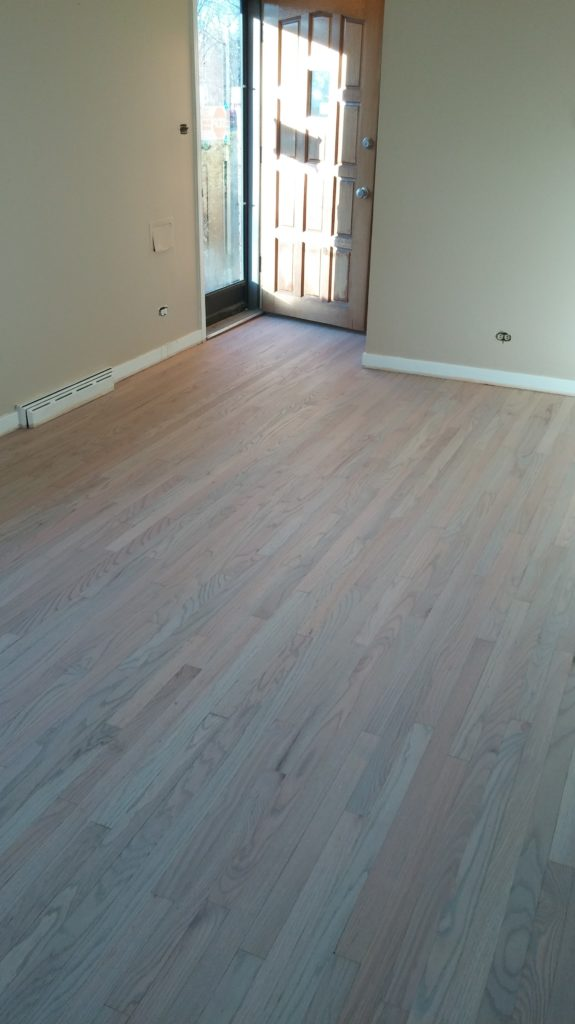 Prefinished flooring installation