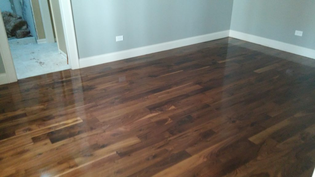 Hardwood refinishing colors
