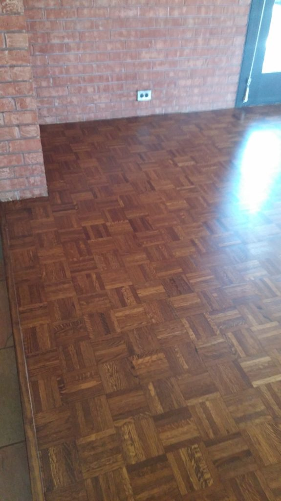 Prefinished flooring installation