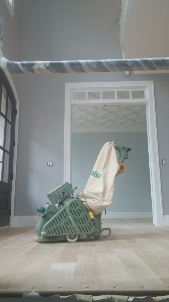 Dustless refinishing in Dupage county
