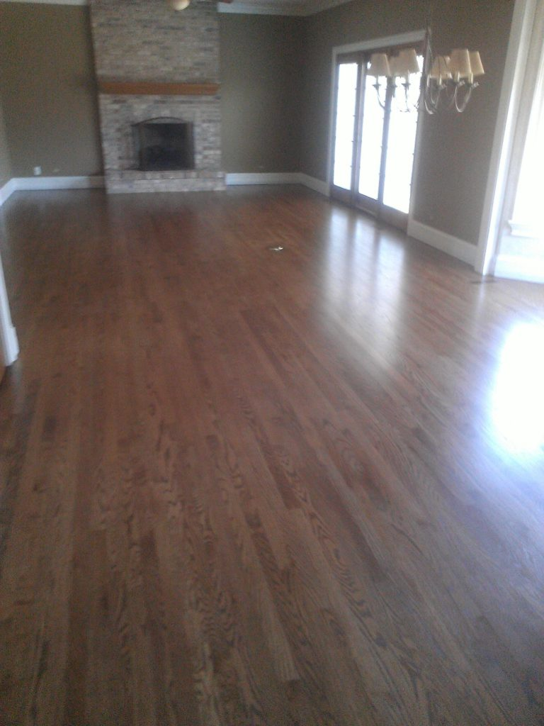 refinishing oak floors